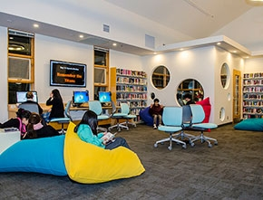 Teen Space in the Library