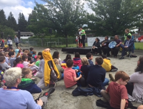 Opening of PJ Outdoor Learning Park